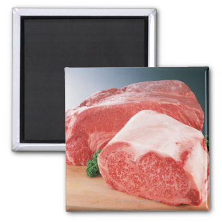 Beef 3 square magnet