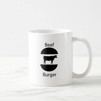 Beef burger mug