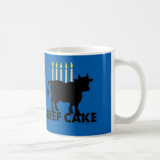 BEEF CAKE FUNNY BIRTHDAY MUG