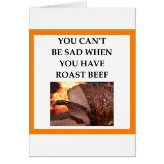 BEEF CARD