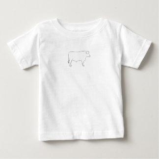 Beef Cattle Bull Baby T-Shirt