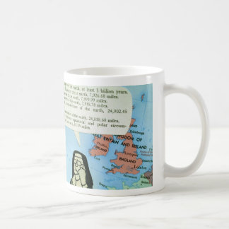 beef coffee cup basic white mug