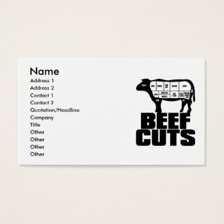 Beef_Cuts Business Card