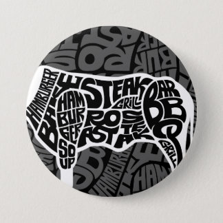 Beef Eater's Chart 7.5 Cm Round Badge
