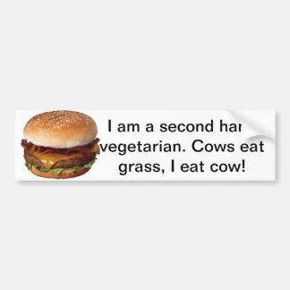 Beef Lovers Bumper Sticker