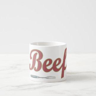 Beef n' Fork Espresso Cup