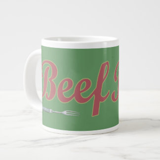 Beef n Fork Extra Large Mug