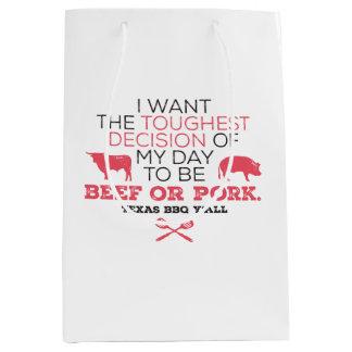 Beef or Pork? Texas BBQ Gift Bag