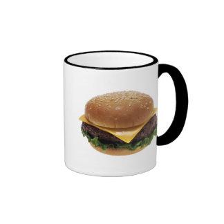 Beef Patti Sandwich Lunch Food Cheeseburger Ringer Mug