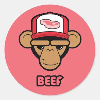Beef sticker