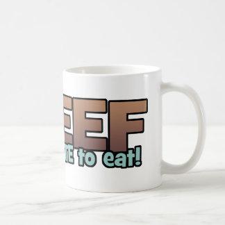 Beef: Too Cute To Eat Coffee Mugs