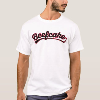Beefcake in black & red T-Shirt