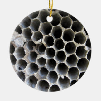 BeeHive 01 Round Ceramic Decoration