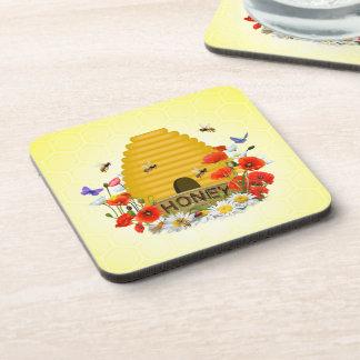 Beehive Beverage Coasters