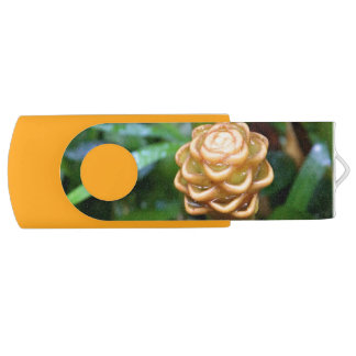 Beehive Ginger Flash Drive Swivel USB 2.0 Flash Drive