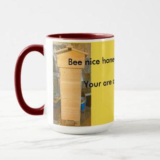 beehive. mug