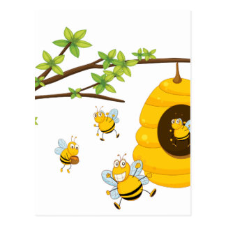 Beehive Postcard
