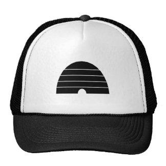 Beehive Silhouette Mesh Hats