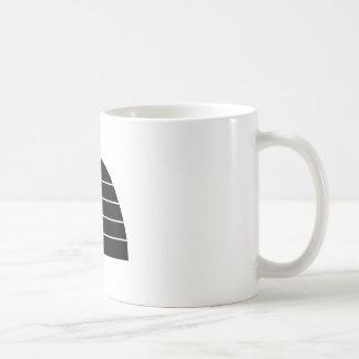 Beehive Silhouette Coffee Mug