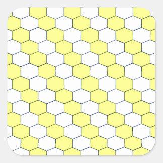 BeeHive Square Sticker