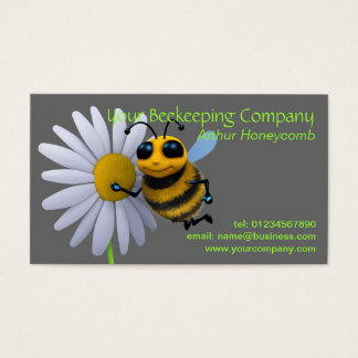 Beekeeper Bee Business Card