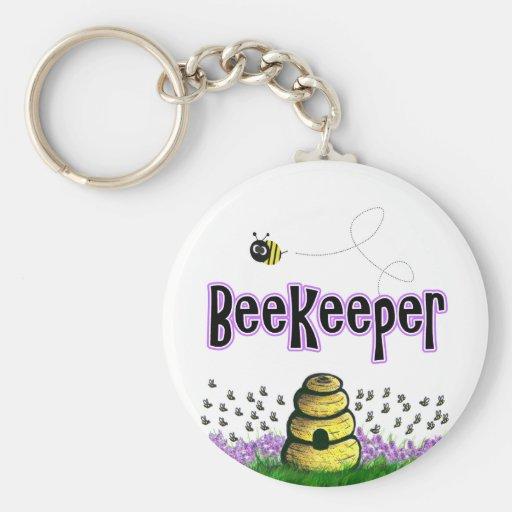 beekeeper keychain