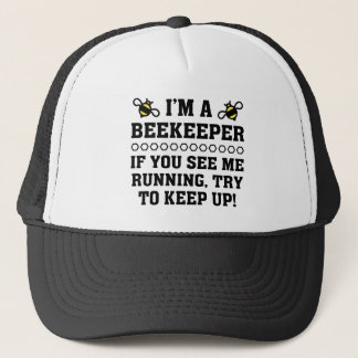 Beekeeper Running Trucker Hat