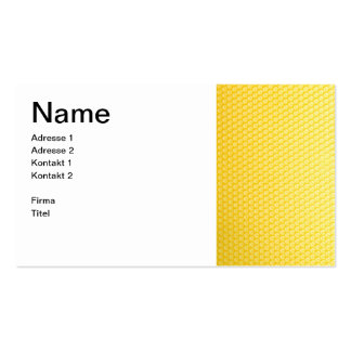 Beekeeper with Honigwabe - visiting card Pack Of Standard Business Cards