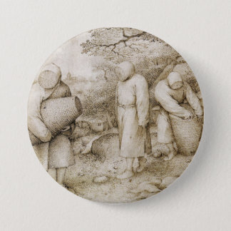 Beekeepers by Pieter Bruegel the Elder 7.5 Cm Round Badge