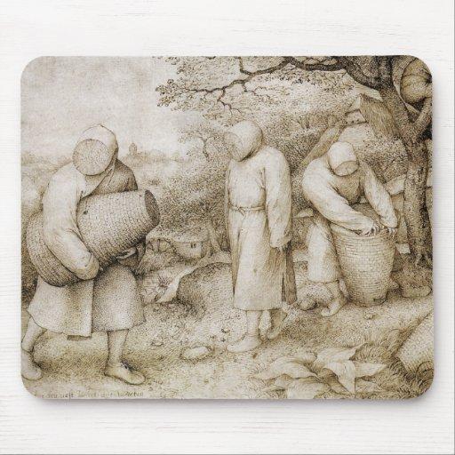 Beekeepers by Pieter Bruegel the Elder Mousepad