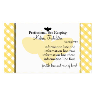 Beekeepers Card Business Card Templates