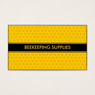 BEEKEEPING HONEY BEE SUPPLIES BUSINESS CARD