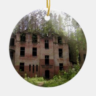 Beelitz hospital ruin, Alpenhaus Ceramic Ornament