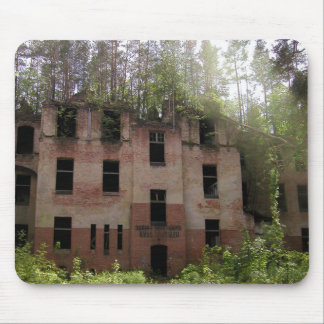 Beelitz hospital ruin, Alpenhaus Mouse Pad