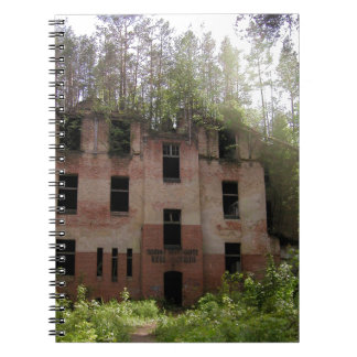 Beelitz hospital ruin, Alpenhaus Notebook