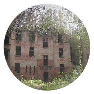 Beelitz hospital ruin, Alpenhaus Plate