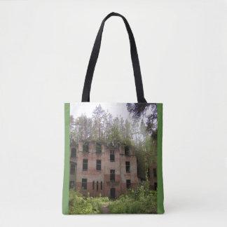 Beelitz hospital ruin, Alpenhaus Tote Bag