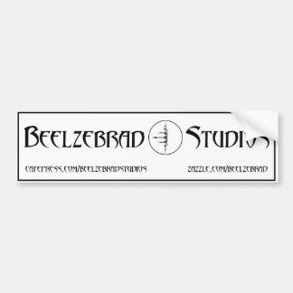 Beelzebrad Studios - Plain Bumper Sticker