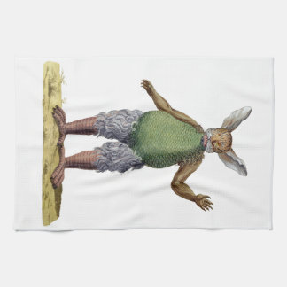 Beelzebub Tea Towel