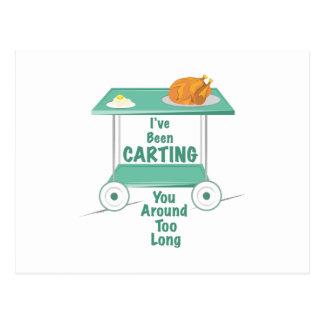 Been Carting Postcard