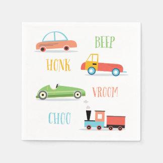 Beep Honk Choo Paper Napkin