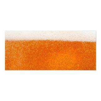 Beer 10 Cm X 24 Cm Invitation Card