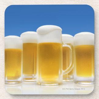 Beer 6 beverage coasters