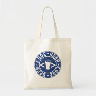 Beer And Code Programmer Tote Bag