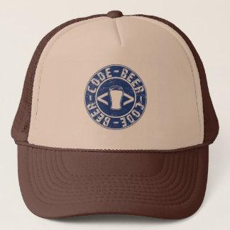Beer And Code Programmer Trucker Hat