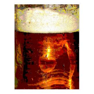 Beer and Foam Postcard