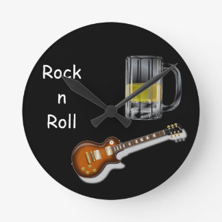 Beer and Guitar Clock