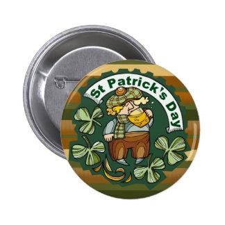 Beer and Irishman 6 Cm Round Badge