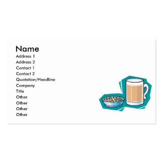beer and nuts pack of standard business cards