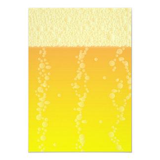 Beer Background Card